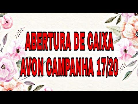 ABERTURA DE CAIXA AVON CAMPANHA 17/20 💋