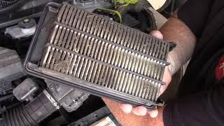 Smontaggio filtro aria motore di HONDA CR V HEV