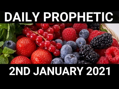 Daily Prophetic 2 January 2021 1 of 7