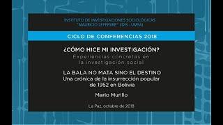 ¿Cómo hice mi investigación? Mario Murillo