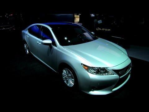 2013 Lexus ES350 Exterior and Interior Debut at 2012 New York International Auto Show NYIAS - automototube