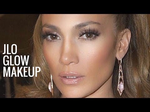 Jlo Glow Makeup Jennifer Lopez Makeup Tutorial Bronzy Glowy - Jlo-makeup