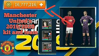 How to get Manchester United's Kit and players 2019/2020 and unlimited coins