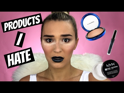 Full Face Using Makeup Products I HATE! - UCPG6A5tNaPfv2SRNW2beq5Q