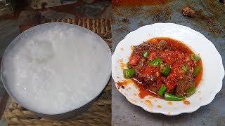 Liver Fry - kochi Bazaar Peshawar  | Kaleji | Fried Liver | Mutton Curry | Gosht ka Salan