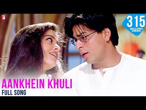 Aankhein Khuli - Full Song   Mohabbatein   Shah Rukh Khan   Aishwarya Rai - UCbTLwN10NoCU4WDzLf1JMOA