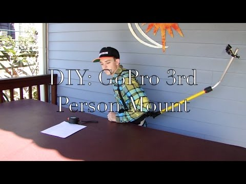 DIY: GoPro 3rd Person Mount - default