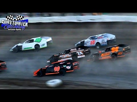 Sweetwater Speedway IMCA Modified Heat Races 7/3/21 - dirt track racing video image