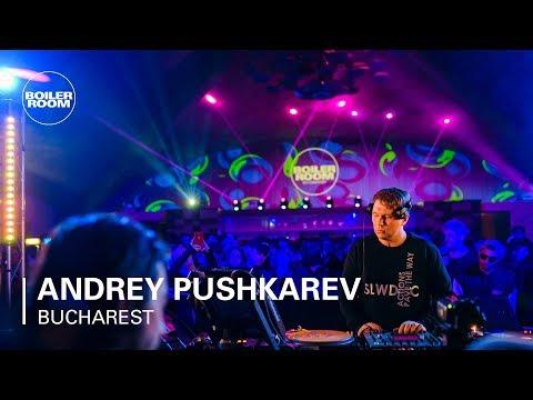 Andrey Pushkarev | Boiler Room: Bucharest - UCGBpxWJr9FNOcFYA5GkKrMg