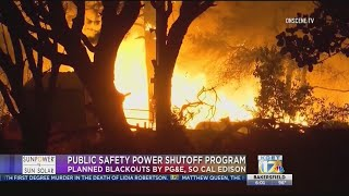 Utility companies to perform controlled blackouts when wildfire threat deemed high