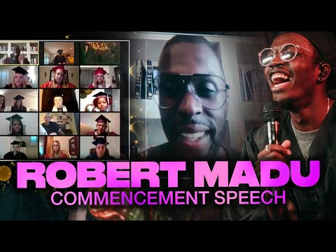 Elevation Youth Online Senior Graduation Commencement Speech  Elevation YTH  Robert Madu