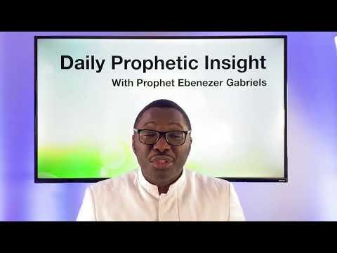 Prophetic Insight - Jan 27th