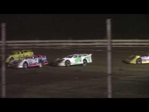 Hummingbird Speedway (8-7-21): Carns Equipment Super Late Model Feature - dirt track racing video image