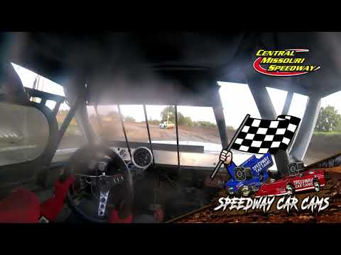 #83K Denny Fitzpatrick - Super Stock - 7-4-2021 Central Missouri Speedway - In Car Camera - dirt track racing video image