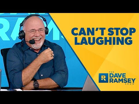 WHERE Did You Get THAT Number? (Dave Ramsey Can't Stop Laughing)