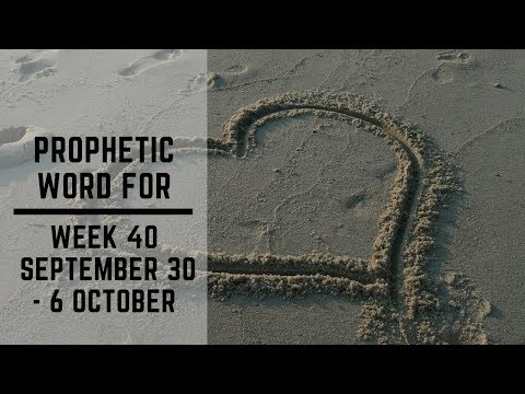 Prophecy For Week 30 September