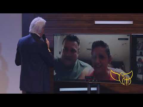Pastor Benny Hinn Prays for Healing of Nevada Couple - Zoom Healing Moment