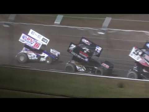 2021 IRA Sprint Richert Memorial - Cedar Lake Speedway 09/11/2021 - dirt track racing video image
