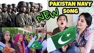 Hum Aik Hain | NEW Pakistan Navy Song Reaction | 14th August Independence Day Song
