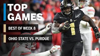 Top Games of 2018: Week 8 | Ohio State Buckeyes vs. Purdue Boilermakers | B1G Football