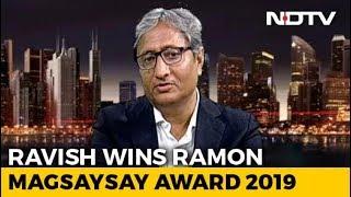 Ravish Kumar's Response On Being Labelled