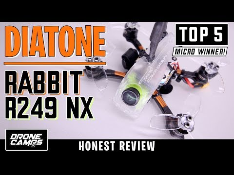 DIATONE RABBIT R249 NX - 5 STAR QUAD - Honest Review & Flights - UCwojJxGQ0SNeVV09mKlnonA