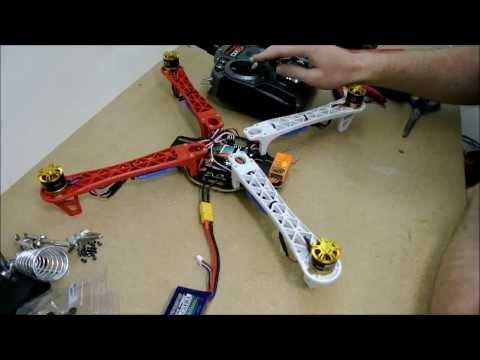 K450 Quadcopter build Tutorial The Drone Worx - UCqQz3UfAVcjc2XN49oSJ-wA