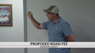 Anderson Co. residents voice concerns with proposed road fee
