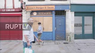 France: Bayonne businesses close doors ahead of G7 summit