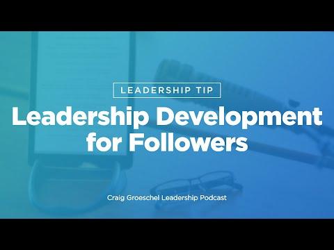 Leadership Tip: Leadership Development for Followers