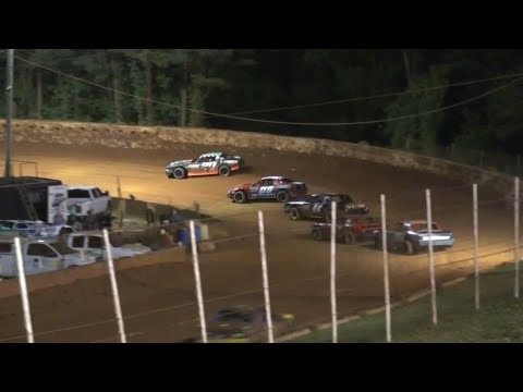 Stock V8 at Winder Barrow Speedway May 8th 2021 - dirt track racing video image