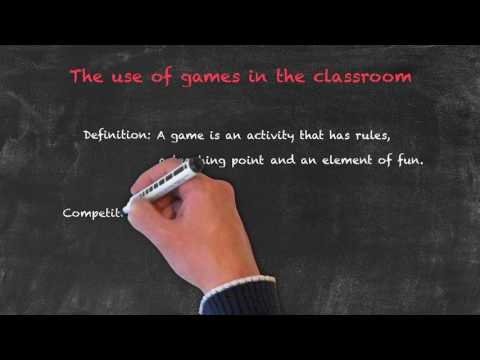 Productive and Receptive Skills in the ESL Classroom - Games In The Classroom