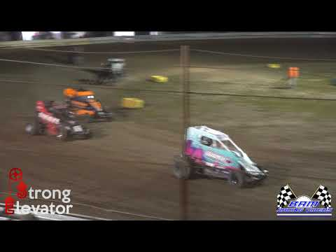 Non-Wing Outlaw Feature - Coles County Speedway 5/14/21 - dirt track racing video image