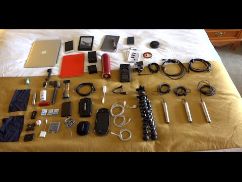 What's in Your Bag, Will? (CES 2015) - UCiDJtJKMICpb9B1qf7qjEOA