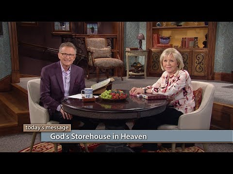 Gods Storehouse in Heaven