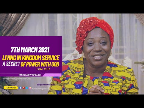 Dr Becky Paul-Enenche - SEEDS OF DESTINY  SUNDAY MARCH 7, 2021
