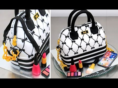 How To Make a Fashion HANDBAG Cake by Cakes StepbyStep - UCjA7GKp_yxbtw896DCpLHmQ