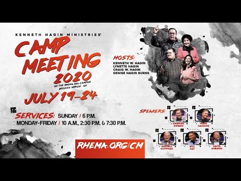 07.22.20    Wed. 10am    Rev.  Earl Glisson   Campmeeting 2020