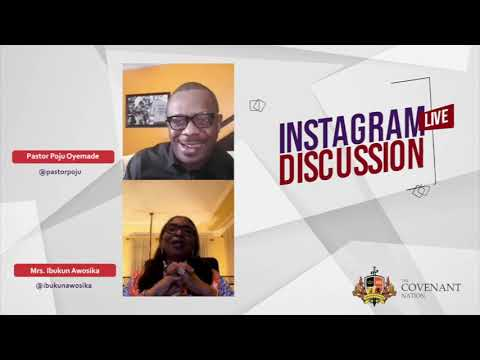 Instagram Live Discussion with Mrs Ibukun Awosika