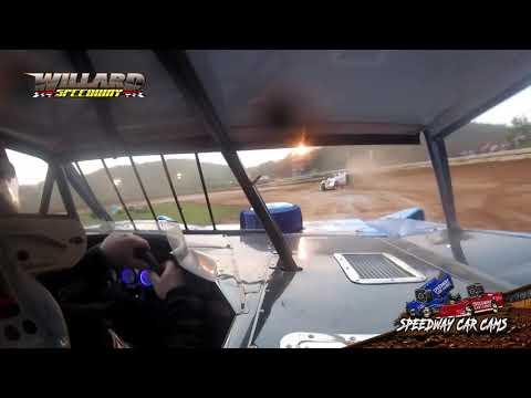 #1 Shane Bailey - Super Late Model - 8-7-21 Willard Speedway - In-Car Camera - dirt track racing video image