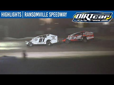 DIRTcar Sportsman Modifieds Ransomville Speedway July 6, 2021 | HIGHLIGHTS - dirt track racing video image