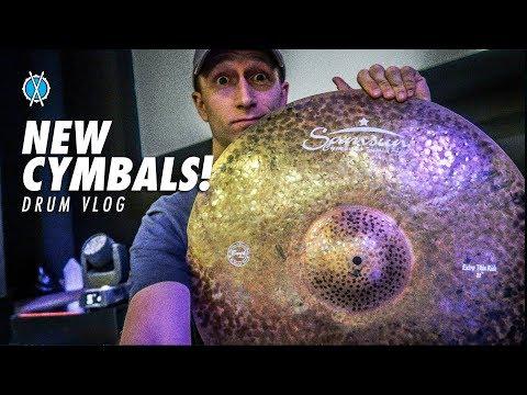 Drum Vlog // New Cymbals!