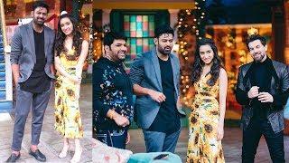 Prabhas Shraddha Kapoor & Niel Nitin Mukesh Having Fun @ Kapil Sharma Show On SAAHO Promotion