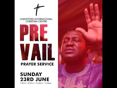 Prevail  Pst. Gbenga Ajibola  Sun 23rd Jun, 2019  4th Service