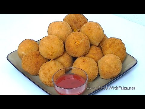 FRIED CHICKEN BREAD BALLS *COOK WITH FAIZA* - UCR9WXUxcp0bR9OWi5ersIHw