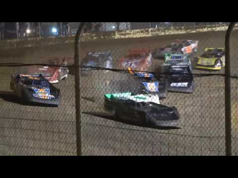 Steel Block B-Main #1 from Portsmouth Raceway Park, October 16th, 2021. - dirt track racing video image