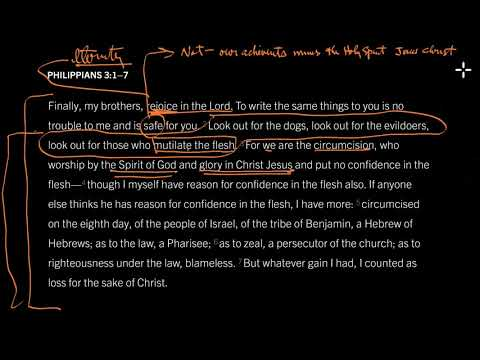 Philippians 3:27 // Morality Minus Jesus Damns Us