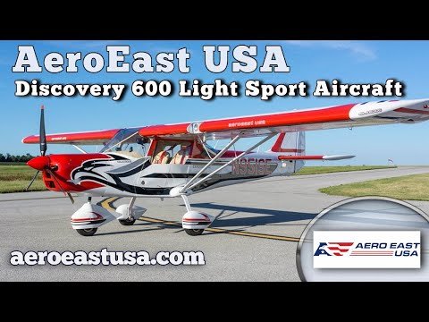 Discovery 600, Experimental Light Sport Aircraft, AeroEast USA, Midwest LSA Expo Mt. Vernon Illinois
