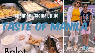 Taste of Manila 2019, Toronto Canada