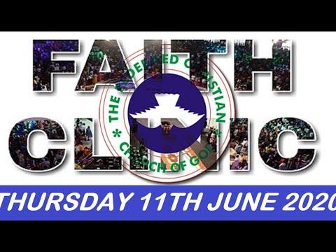 RCCG JUNE 11TH 2020 FAITH CLINIC
